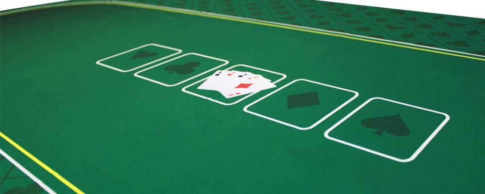 Casino Style Poker Table Felt