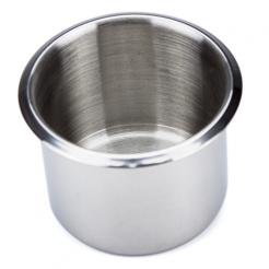 small stainless steel cup holder