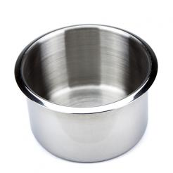 large stainless steel cup holders