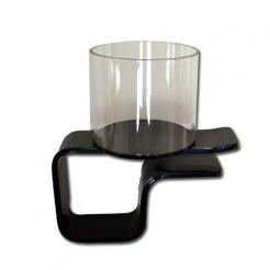 clip-on plastic poker table cup holder